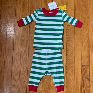 New Hanna Andersson striped PJs size 0-6 months